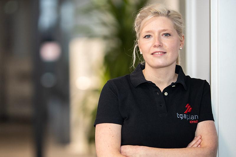 Julia Wüsteney - kaufmännische Angestellte TGA-Plan