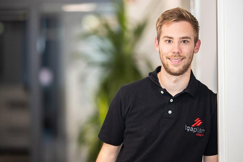 Kevin Guthier - Azubi technischer Systemplaner TGA-Plan